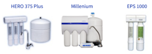 Hero 375 Plus, Millenium system, EPS1000, reverse osmosis systems